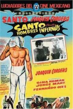 Santo vs. the Infernal Men (1958)