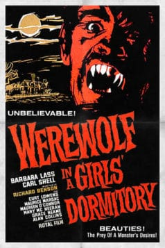 Werewolf In A Girls Dormitory (1961)