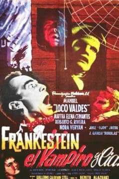 Frankenstein the Vampire and Company (1962)