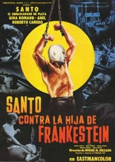 Santo vs. Frankenstein's Daughter (1971)