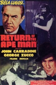 Return of the Ape Man (1944)