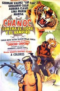 Chanoc vs. the Tiger and the Vampire (1972)