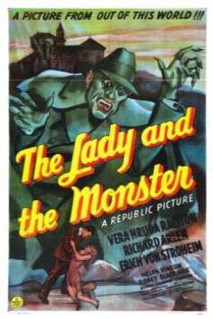The Lady and the Monster (1944)