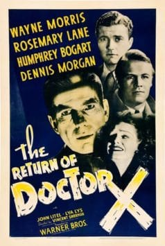 The Return of Doctor X (1939)