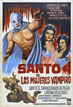 Santo vs. the Vampire Women (1962)