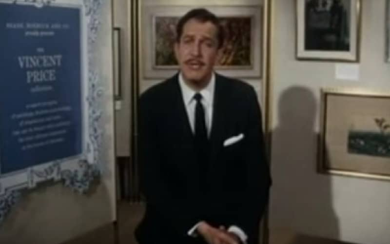 Vincent Price's Sales Training Video for Sears, Roebuck and Co. Fine Art Collection