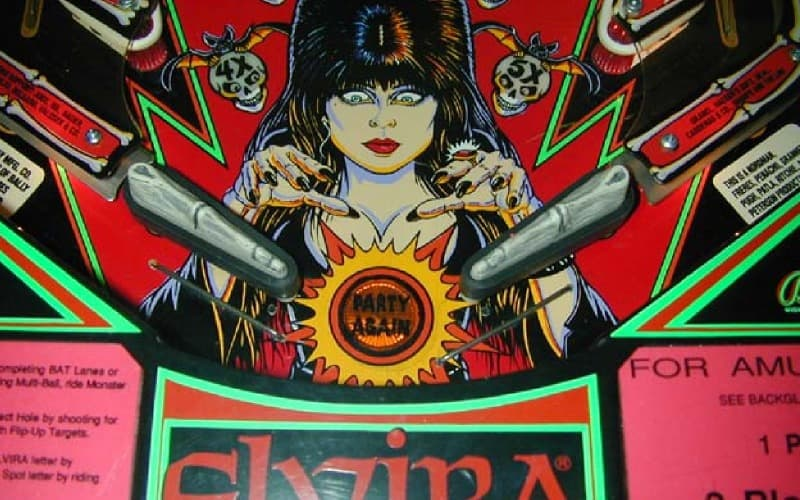 Horror-Themed Pinball Games
