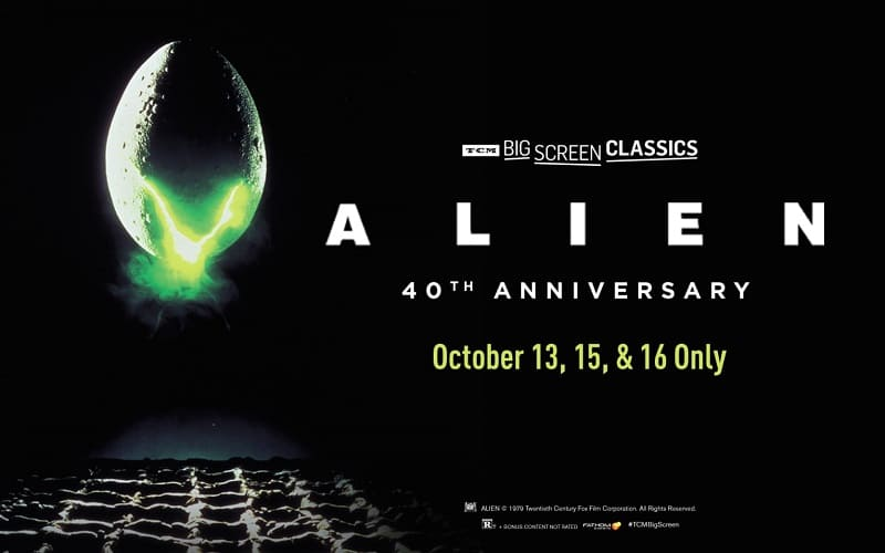 Alien Coming to Theaters for 40th Anniversary