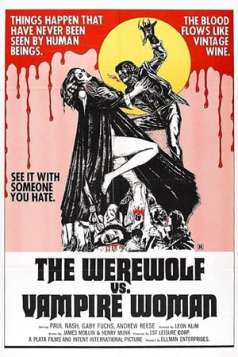 The Werewolf Versus the Vampire Woman (1971)