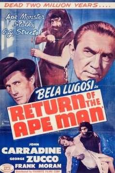 Return of the Ape Man (1944)
