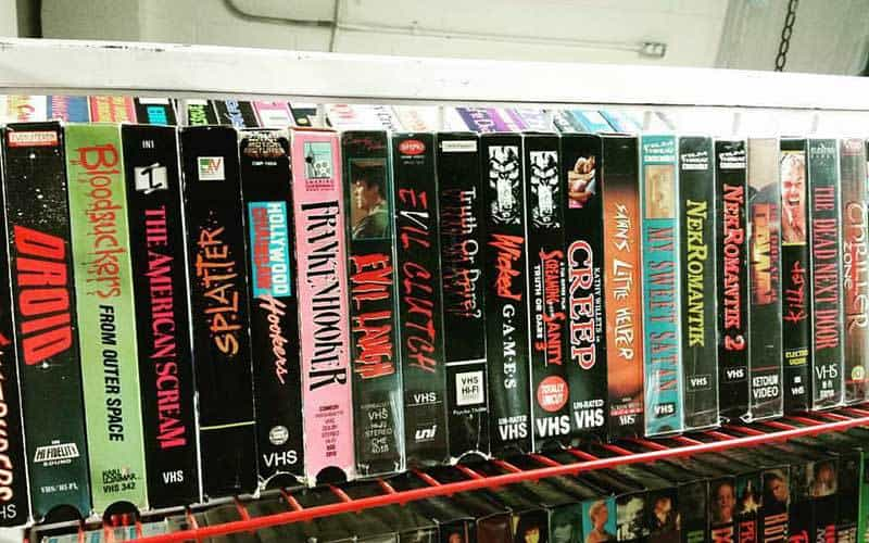 VCR Horrors 1987