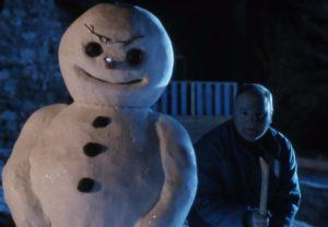 bad jack forst horror snowman