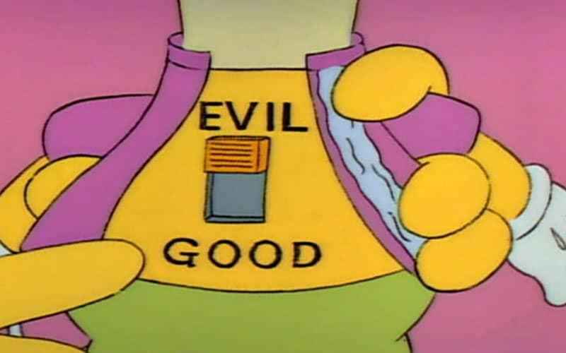 Evil Krusty Doll