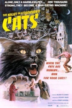 The Night of a Thousand Cats (1972) Review